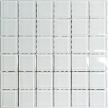 Mozaika Szklana Biała 30x30