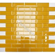 Mozaika Szklana Żółta Cegiełka A 30x30