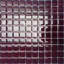 Mozaika Szklana Burgund  30x30