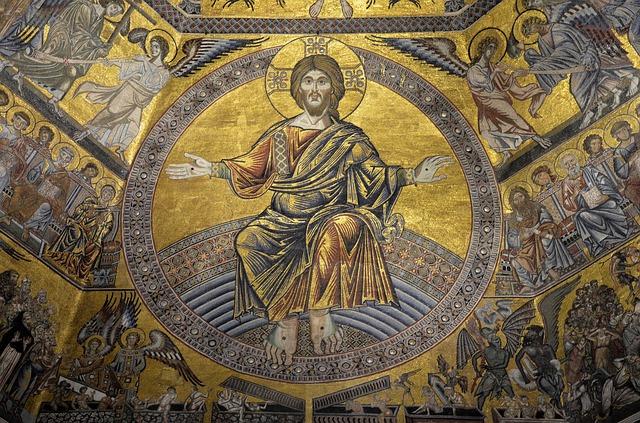 Chrystus Król z Baptysterium Florenckiego
