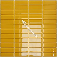 Mozaika Szklana Żółta Cegiełka B 29,8x29,8