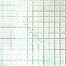 Mozaika Szklana Kameleon Biały