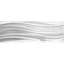Płytka ceramiczna złota metalizowana fala 30x90