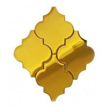 Arabeska Szklana Złota