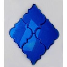 Arabeska Szklana Kobalt